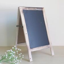 Rustic Vintage Blank Chalkboard Blackboard Easel Frame Wedding Party Decoration