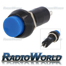 12v Push Button Switch Momentary (ON) - OFF SPST Car Dash Horn Engine Start Blue