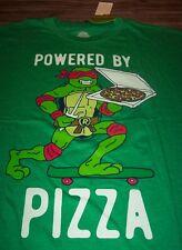 TEENAGE MUTANT NINJA TURTLES Powered By Pizza T-Shirt XXXXL 4XL BIG & TALL NEW