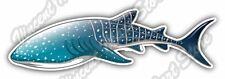 """Whale Shark Jaws Aquatic Ocean Sea Fish Car Bumper Vinyl Sticker Decal 7""""X3"""""""