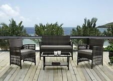 Premium Rattan Garden Furniture 4 Piece Sofa Set