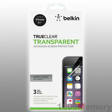 BELKIN TrueClear Transparent Screen Protector 3Pack for iPhone 6 6S Plus 5.5""