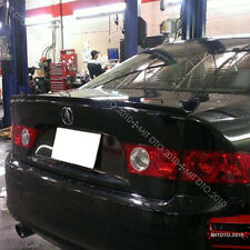04-08 Acura TSX Trunk Lip Spoiler B92P Nighthawk Black Pearl Paitend §