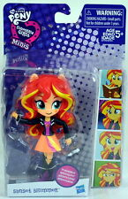 2016 New My Little Pony Equestria Girls Minis Mini Doll SUNSET SHIMMER