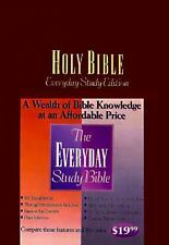 Everyday Study Bible: For People Who Want To Know The Word Everyday-ExLibrary
