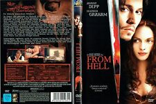 (DVD) From Hell - Johnny Depp, Heather Graham, Sir Ian Holm, Jason Flemyng