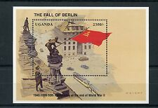 Uganda 1995 MNH WWII VE Day 50th End of World War II 1v SS Fall of Berlin Stamps