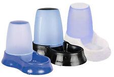 Dispensador de comida y agua para Perro & Gato Alimentador de plástico 1.5 litro por Trixie 24762