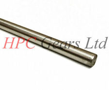 19mm ARGENTO ACCIAIO Ground BAR ROD 100mm MODEL MAKER ALBERO ASSE HPC INGRANAGGI