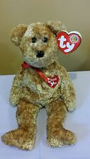 Ty Beanie Baby - THANK YOU BEAR the BBOM April 2004  Retired /New