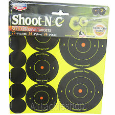 Birchwood Casey Shoot-N-C Stick Targets MULTI PACK  for Air Rifle 22/177 Pellets