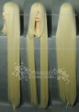 〈Chobits〉New Cosplay Long Platinum Blonde Wig 150cm