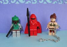 LEGO Star War MINIFIGURE DISNEY BOBA FETT PRINCESS LEIA BIKINI ROYAL RED GUARD