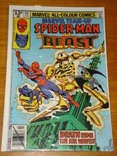 MARVEL TEAM UP #90 COMIC NEAR MINT CONDITION SPIDERMAN FEBRUARY 1980