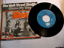 "10CC(TEN cc)""THE WALL STREET SHUFFLE- disco 45 UH Germany 1974"" PERFETTO"