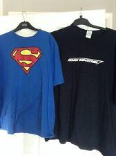 Mens T-Shirts 2XL Stark Industries/ Superman