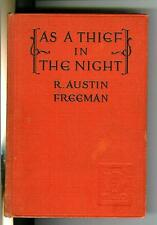 AS A THIEF IN THE NIGHT by Freemen, rare US Dodd Mead 1st crime hardcover, NO DJ