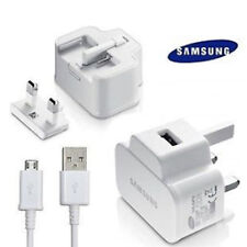 SAMSUNG GALAXY S4 S5 S6  EDAGE NOTE  MAINS CHARGER ETA-U90UWE+DATA CABLE