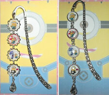 MINION Bookmark With Pendant Book Mark Disney Despicable Me Bee Doo Fireman Maid