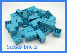 Lego - Medium Blue Bricks 2x2 (3003) 2x3 (3002) 2x4 (3001) - New Pieces