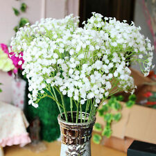 1PCS NEWArtificial Fake Silk Gypsophila Baby's Breath Flower Plant Home Wedding