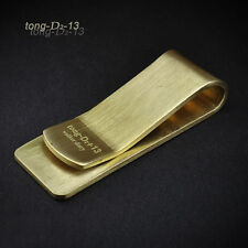 Retro Vintage Solid Brass Bodiness Money Paper Clip Gift