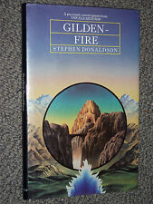 Gilden-fire by Stephen Donaldson Hardback 1983 an episode from The Illearth War
