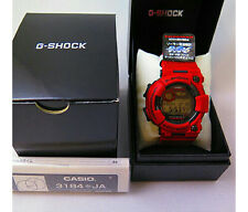 CASIO G-SHOCK GWF-1000RD-4JF FROGMAN Men in Burning Red Free Shipping EMS New
