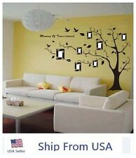 Tree Frame Family Photo Home Decor Posted Removable Wall Sticker Decal Vinyl Art