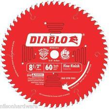 """8 1/2"""" 60T Freud Diablo Circular Saw Blade D0860S"""