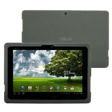 Silicone Skin Case Cover for Asus Eee Pad Transformer Prime TF101 tablet,Gray
