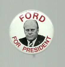 GERALD FORD FOR PRESIDENT 1976 PHOTO PIN