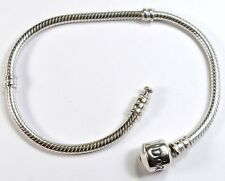 "18cm or 7"" GENUINE PANDORA 925 ALE STERLING SILVER BRACELET Jewellery 590702HV"