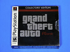 GRAND THEFT AUTO COLLECTOR'S EDITION ALL MAPS FOR PS1 COMPLETE PLAYSTATION 1