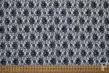 25 METRE ROLL - BULK BUY - LACE FABRIC - 100% POLYESTER - WIDTH 112 CMS