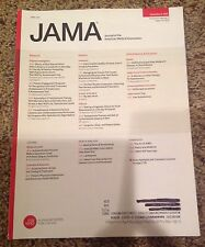 Journal of American Medical Association (JAMA) Individual Back Issues 2011-2015