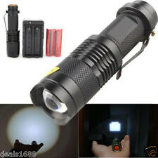3000LM CREE XM-L T6 LED Flashlight Light Torch Фонарик + 18650 Battery + Charger
