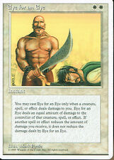 MAGIC THE GATHERING 4TH EDITION WHITE EYE FOR AN EYE