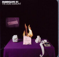 FABRICLIVE 51 =Duke Dumont= Vincenzo/Bodycode/Scuba..= TECHNO ELECTRO TECH HOUSE