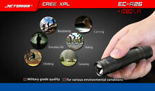 JETbeam NITEYE EC-R26 Cree XP-L 1080LM Rechargeable Waterproof LED Flashlight