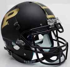 PURDUE BOILERMAKERS Schutt AiR XP AUTHENTIC Football Helmet (MATTE BLACK)