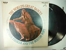 33 RPM Vinyl Arthur Fiedler The Worlds Great Dances RCA CSC-0608 011915KME