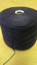 1 Spule Wolle Alpaka blau GP 32,50 €/kg soft Handstrickgarn voluminös Zwirn