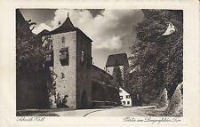 Postkarte - Schwäb. Hall / Partie am Langenfelder Tor