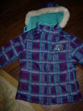 Girls 1 Purple & Blue winter jacket W Hood by ZeroXposur.Size: 5/6M Used