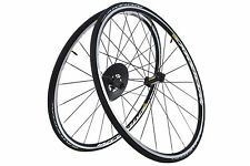 Mavic Aksium Road Bike Wheel Set 700c Alloy Clincher Shimano 11 Speed w/ Tires