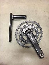 SRAM Quarq S975 Powermeter BB30 / PF30 Crankset 175mm 53/39 Q-Rings 130 BCD