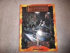 Deadlands Rascals Varmints & Critters 2 the Book of Curses