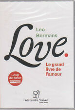LOVE le grand livre de l'amour livre AUDIO LEO BORMANS cd