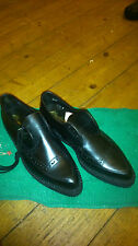 MARLOWS MONARCH VINTAGE RARE LEATHER  GIBSON CREPE CREEPERS SHE UK 10 NEW